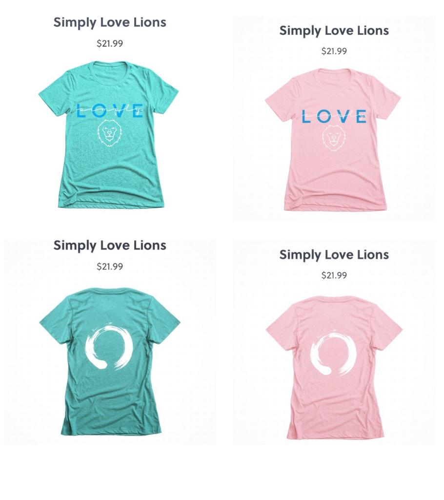 Simply Love Lions Range
